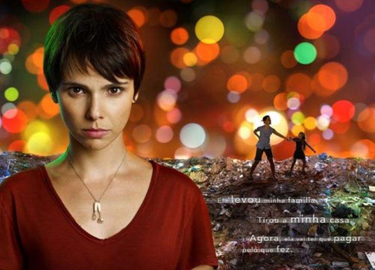 ... Nina (atriz: Debora Falabella), novela Avenida Brasil, Rede Globo